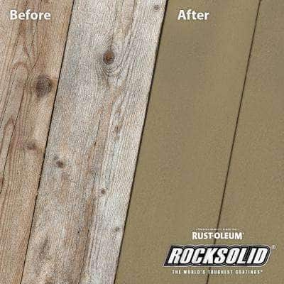 5 gal. River Rock Exterior 2X Solid Stain