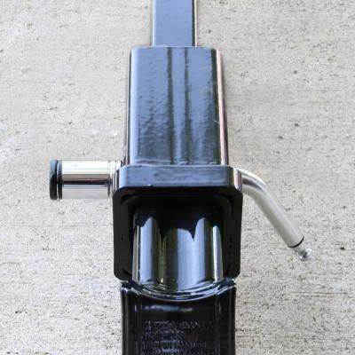 Locking Boomerang Hitch Pin and Coupler Lock