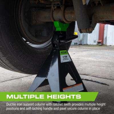 3-Ton Steel Jack Stands
