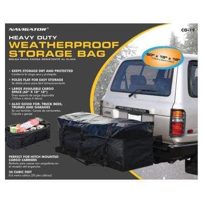 20 cu. ft. Waterproof Cargo Bag for Hitch Mounted Cargo Rack