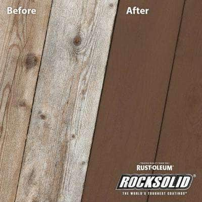 5 gal. Russet Exterior 2X Solid Stain