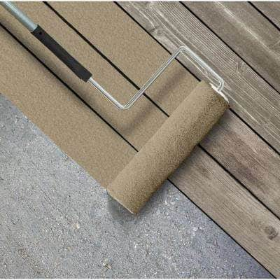 5 gal. #SC-151 Sage Textured Solid Color Exterior Wood and Concrete Coating