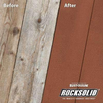 5 gal. California Rustic Exterior 2X Solid Stain