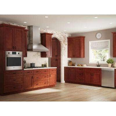 Kingsbridge Assembled 23.25 x 34.5 x .25 in. Kingsbridge Base Skin in Cabernet