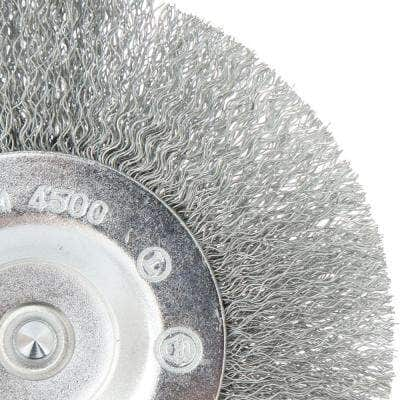 4 in. Crimped Wire Wheel