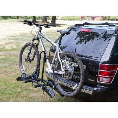 FlatRack 2-Bike Stand-Up Rack Hitch Bike Rack