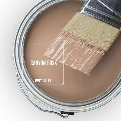 8 oz. #S210-4 Canyon Dusk Satin Enamel Interior Paint and Primer in One Sample