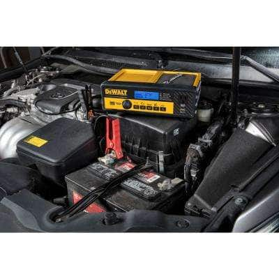 30 Amp Automotive Portable Car Battery Charger with 80 Amp Engine Start and Alternator Check