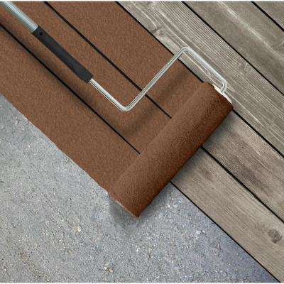 5 gal. #SC-110 Chestnut Textured Solid Color Exterior Wood and Concrete Coating