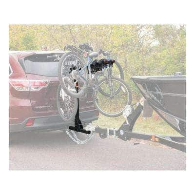"""Towable Extendable Hitch-Mounted Bike Rack (2 or 4 Bikes, 2"""" Shank, 2,000 lbs.)"""