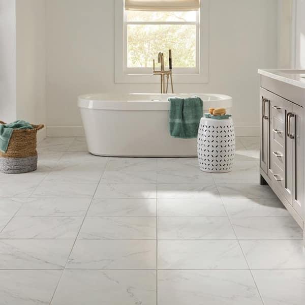 Lifeproof Slip Resistant Porcelain Tile, Porcelain Bathroom Tiles Home Depot