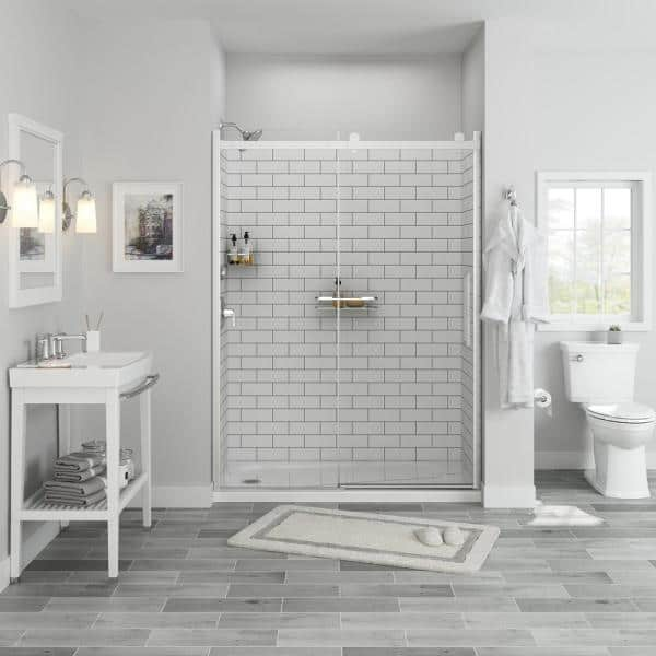 Passage Shower Collection Bath The Home Depot