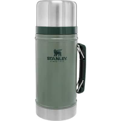 Classic 32 oz. Hammertone Green Stainless Steel Vacuum Insulated Food Jar