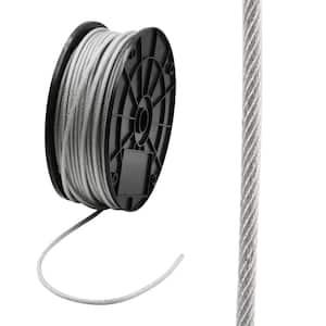 3/32 in. x 250 ft. Galvanized Vinyl Coated Steel Wire Rope