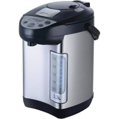 13.9-Cups Stainless Steel Instant Hot Water Dispenser in Silver