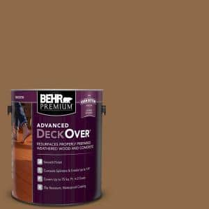 1 gal. #SC-115 Antique Brass Smooth Solid Color Exterior Wood and Concrete Coating