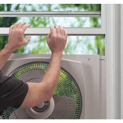 16 in. Window Fan with EZ-Dial Ventilation