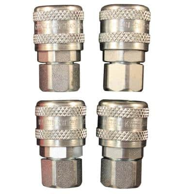 1/4 in. FNPT A Style Coupler