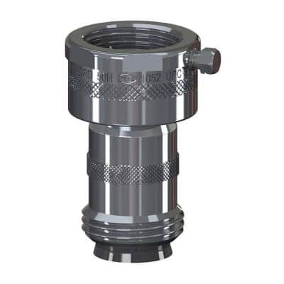 Add-On 3/4 in. Hose Thread Chrome Double-Check Backflow Preventer