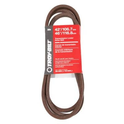 Original Equipment Lower Transmission Drive Belt for Select Front Engine Riding Lawn Mowers OE# 954-0467, 754-0467