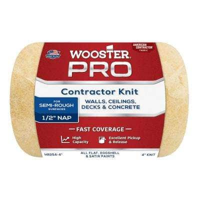 4 in. x 1/2 in. Pro American Contractor High-Density Knit Fabric Roller