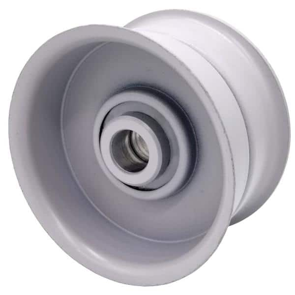 3 25 In Flat Diameter X 5 8 In Bore Steel Flat Idler Pulley 31325175 The Home Depot