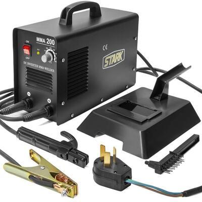 220-Volt 200 Amp MMA Inverter DC Arc Welder Advance IGBT Soldering Machine DIY Tool with Accessories Kit