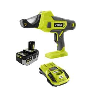 ONE+ 18V Lithium-Ion Cordless PVC and PEX Cutter with HIGH PERFORMANCE 4.0 Ah Battery and Charger Kit