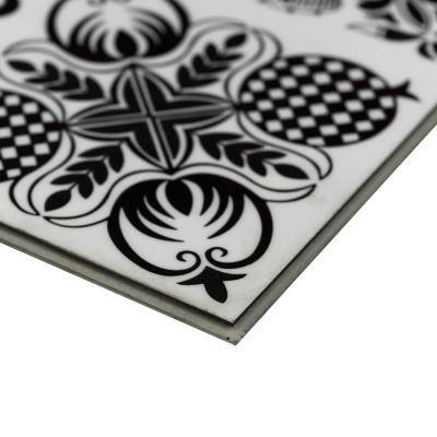 Baylee Tux 11.81 in. W x 23.62 in. L Rigid Core Luxury Vinyl Tile Flooring (19.37 sq. ft. / case)