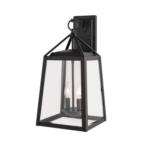 Home Decorators Collection Blakeley, Home Depot Outdoor Wall Lighting Black