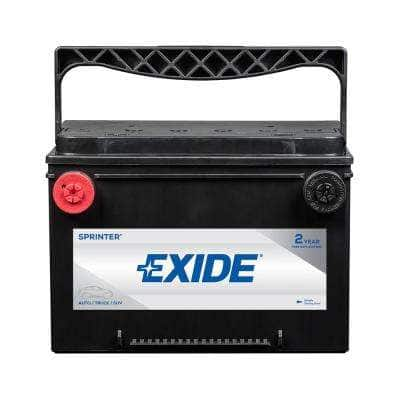 SPRINTER MAX 12 volts Lead Acid 6-Cell 78 Group Size 800 Cold Cranking Amps (BCI) Auto Battery