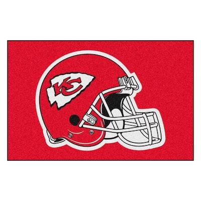 NFL - Kansas City Chiefs Helmet Rug - 19in. x 30in.