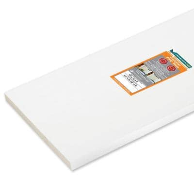 1/2 in. x 12 in. x 8 ft. Reversible Cellular PVC Fascia