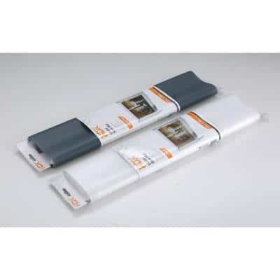 24 in. x 48 in. Clear Under Sink Mat Shelf or Drawer Liner