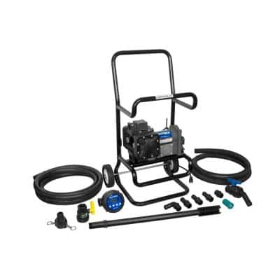 120-Volt 15 GPM 1/4 HP Industrial Chemical Transfer Pump Package