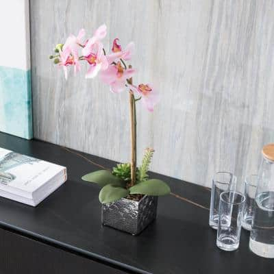 Imitative Synthetic Pink Orchid
