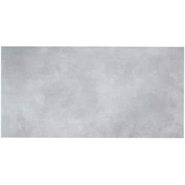 Ivy Hill Tile Duren 28mil Concreto Silver 18 In X 36 In Glue Down Luxury Vinyl Tile Flooring 36 Sq Ft Ext3rd105488 The Home Depot
