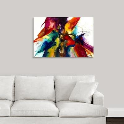 """""""Flourish III"""" by Jonas Gerard Canvas Wall Art"""