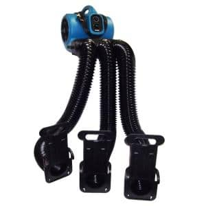 1/3 HP Professional Cage Dryer with Multi Cage Drying Hose Kit