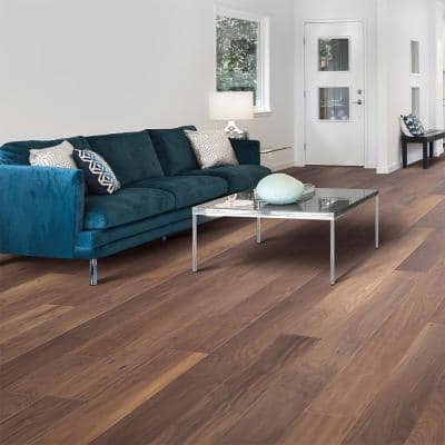 Big Sky Natural Walnut 9/16 in. Thick x 7 in. Wide x Varying Length Engineered Hardwood Flooring (22.5 sq. ft. / case)