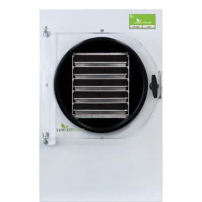 5-Tray Large White Aluminum Freeze Dryer with Mylar Starter Kit
