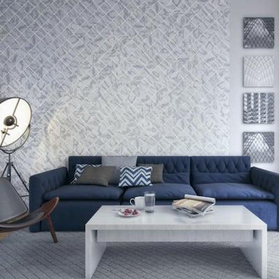 Silhouette Calacatta S4669 6 in. x 6 in. Ceramic Bullnose Wall Tile (20 each / carton)