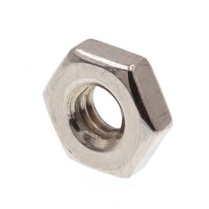 #8-32 Grade 18-8 Stainless Steel Machine Screw Hex Nuts (100-Pack)