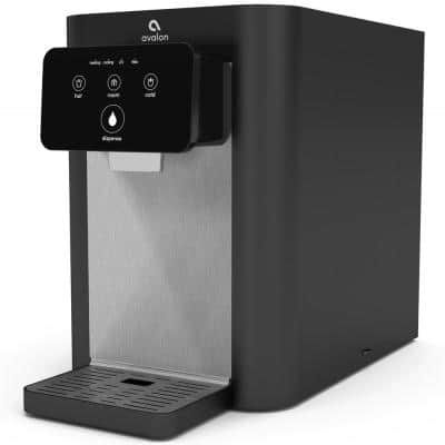 Electric Touch Countertop Bottleless Water Cooler Water Dispenser - 3 Temperatures, UV Cleaning