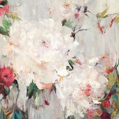 """72 in. x 72 in. """"Big Bouquette III"""" by Ella K Canvas Wall Art"""