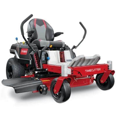 42 in. TimeCutter Iron Forged Deck 22 HP Kohler V-Twin Gas Dual Hydrostatic Zero-Turn Riding Mower with MyRIDE