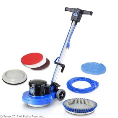 13 in. Core Heavy Duty Commercial Polisher Floor Buffer Machine with 5 Pads