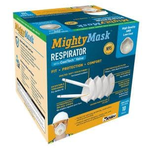 3D+ N95 Mighty Mask with CoolTech Valve (10-Pack)
