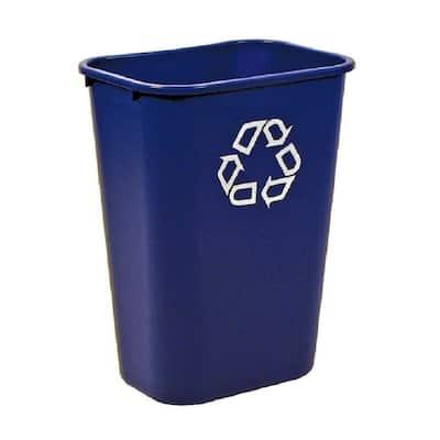 10.38 Gal. Blue Large Deskside Recycling Bin