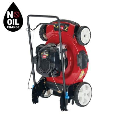 Recycler 22 in. SmartStow Briggs and Stratton High Wheel Gas Walk Behind Push Mower